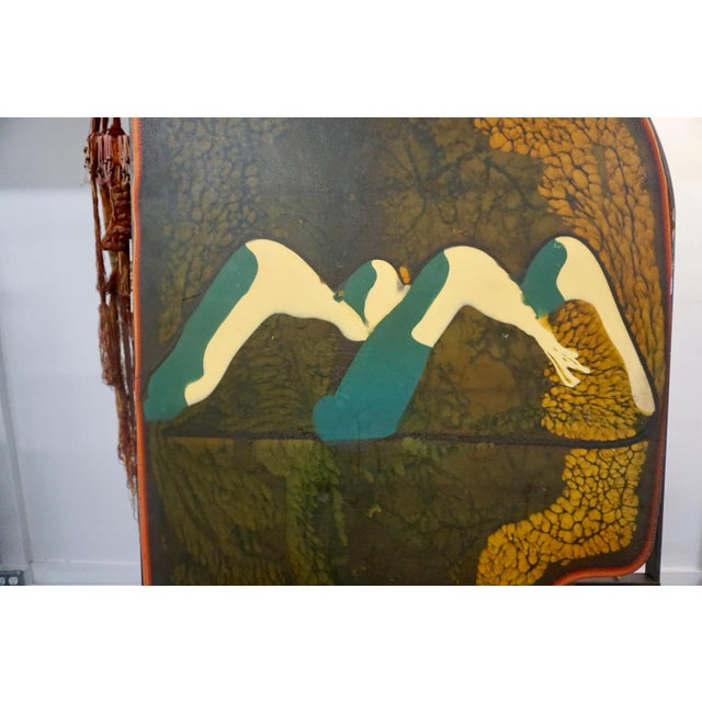 Gaetano Pesce Colorful Resin Door by Gaetano Pesce for Chiat Day For Sale - Image 4 of 10