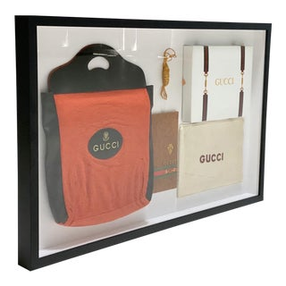 Vintage Gucci Framed Artwork For Sale