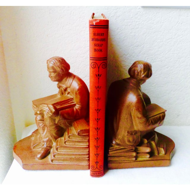 Elbert Hubbard Bookends - Image 2 of 11