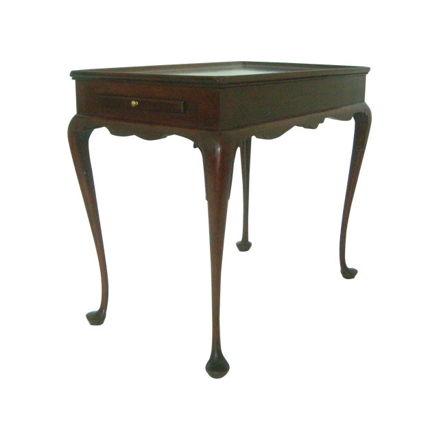 Biggs Pembroke Mahogany Side Table W/ Pull Out Leaves - Image 1 of 8