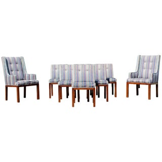 Mid-Century Modern Dale Ford for John Widdicomb, Set of Eight Dining Chairs For Sale