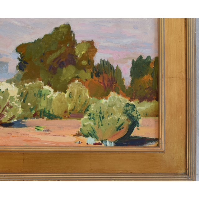 Early 20th Century George Barker(1882-1965), Plein Air California Landscape Oil Painting For Sale - Image 5 of 10