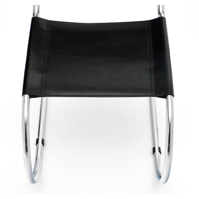 1970s Vintage Mies Van Der Rohe Cantilever Chairs - a Pair For Sale - Image 5 of 10