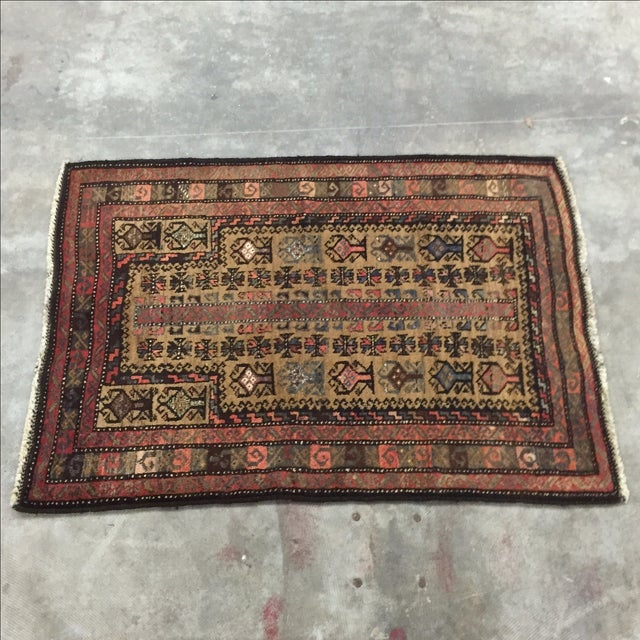 Traditional Baluchi Persian Rug - 2'6 x 3'6'' - Image 2 of 7