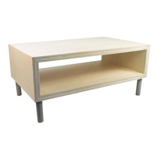 Modern Bleached Coffee Table For Sale