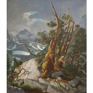 Robert Clunie (1895-1984) - Storm in Nth Palisade Basin, Inyo County, California