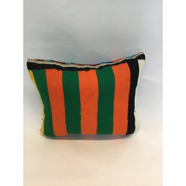 Tunisian Handmade Kilim Pillow - Image 3 of 3