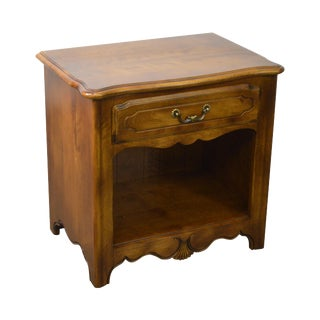 Ethan Allen Country French 1 Drawer Nightstand