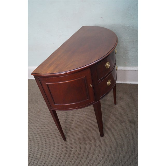 Baker Furniture Demilune Console - Image 10 of 10