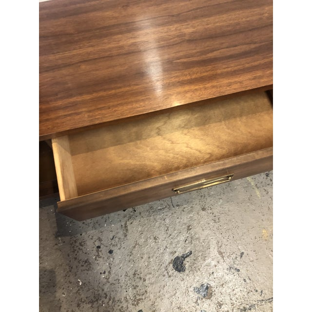 Mid 20th Century 1960s Mid Century Modern Walnut Credenza For Sale - Image 5 of 13
