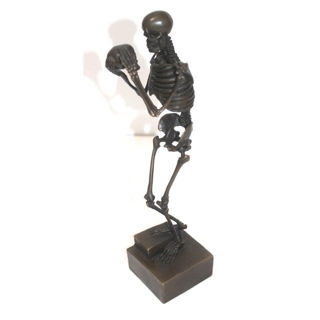 Vintage Carl Kauba Style Bronze Figure For Sale - Image 11 of 13
