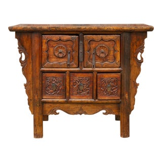 19th Century Rustic Chinese Dresser For Sale
