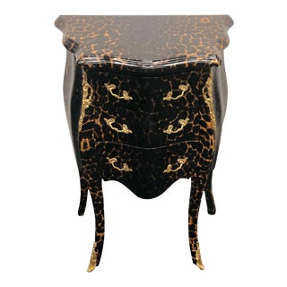 Louis XV Leopard Chest of Drawers For Sale
