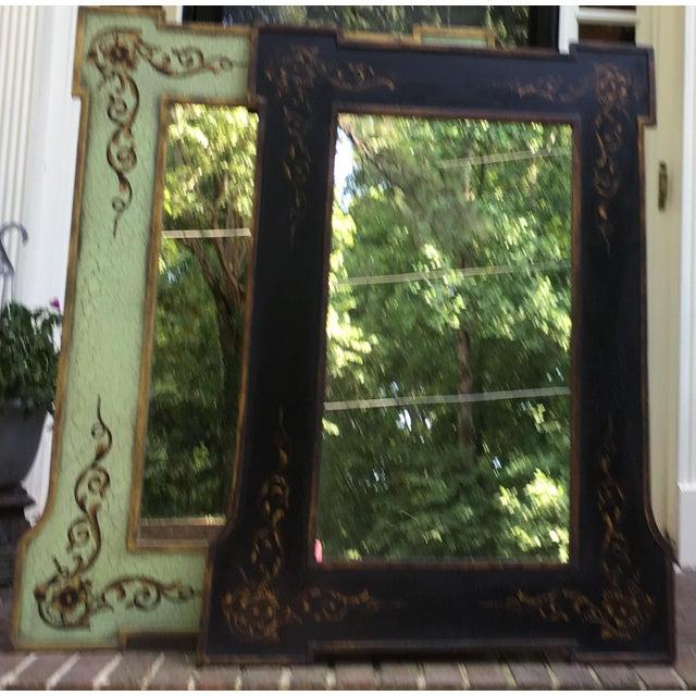Design Rectangular Black / Green Mirrors For Sale In Atlanta - Image 6 of 13