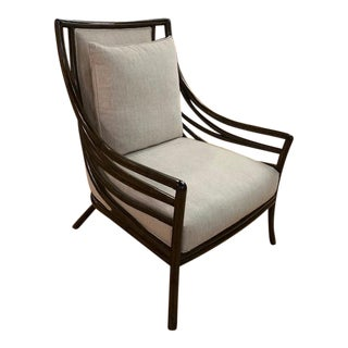 Palecek Crescent Lounge Chair For Sale