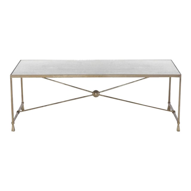 Bernhardt Rowley Modern Cocktail Table - Image 1 of 3