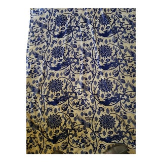 Cotton Velvet Orientalist Design Fabric, 3yds