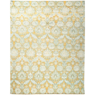 """Suzani Hand Knotted Area Rug - 8'10"""" x 11'1"""""""