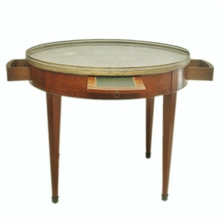 Large Round French Gueridon Table