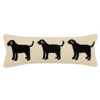 Dog Trio Hook Pillow For Sale