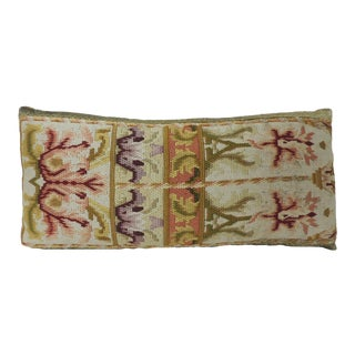 19th Century Tapestry Decorative Lumbar Pillow For Sale