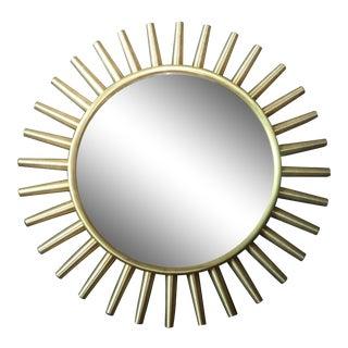 Vintage Fornasetti Starburst Brass Mirror For Sale