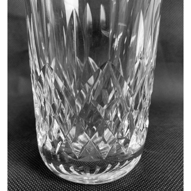 """Waterford Crystal Waterford""""Lismore"""" Pattern Highball/Tumbler Glasses - Set of 4 For Sale - Image 4 of 11"""