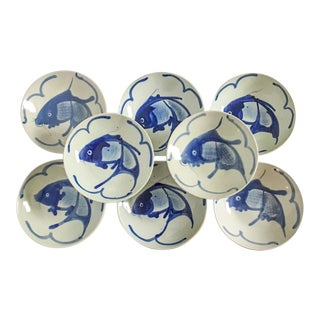 Chinoiserie Fish Bowls - Set of 8