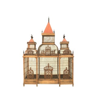 Large Turn of the Century French Birdcage For Sale