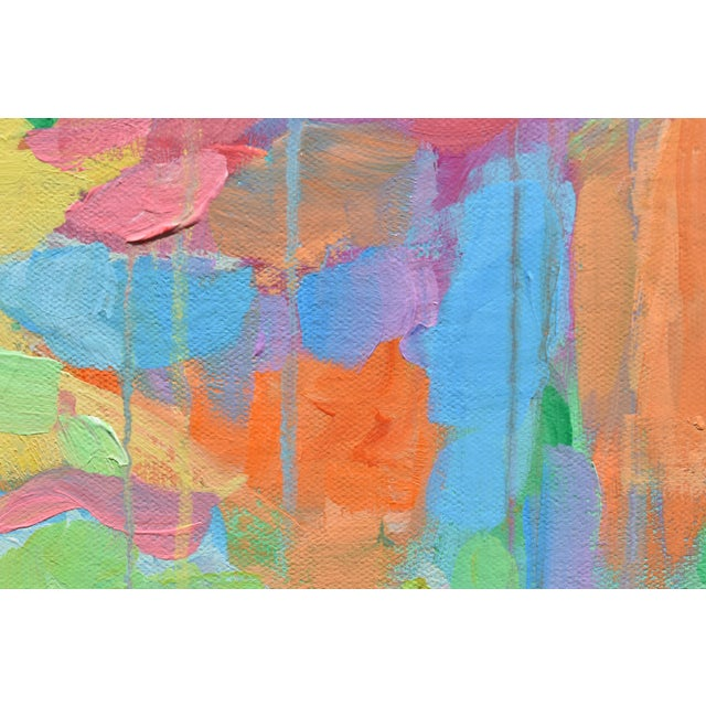 """Canvas Modern """"Bouquet- Out of Many, One"""" Abstract Painting by Stephen Remick For Sale - Image 7 of 13"""