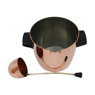 English Copper Ice Bucket & Ladle, 2 Pieces Preview