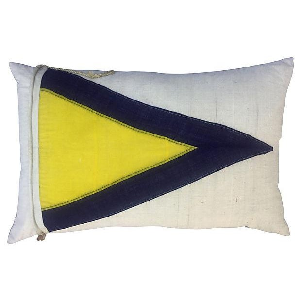British Nautical Flag Pillow - Image 3 of 4