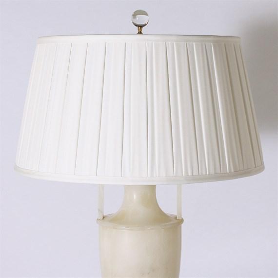 Italian Alabaster Lamp, C. 1940 For Sale - Image 4 of 7