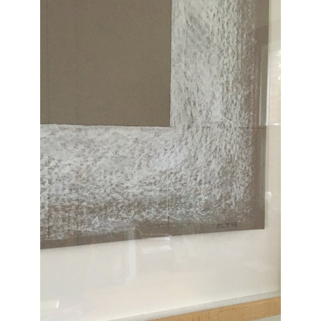Contemporary Erik Lee Thompson Pastel on Rag Paper Artwork For Sale - Image 3 of 5