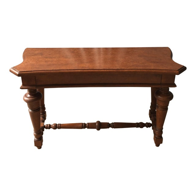 Transitional Wooden Console - Image 1 of 4