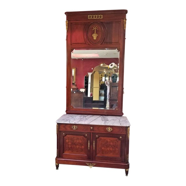 19c French Louis XVI Style Complete Bedroom Set For Sale