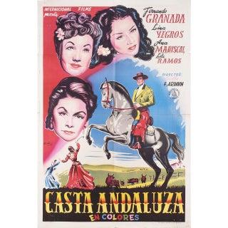 Vertigo 1953 Argentine Film Poster For Sale