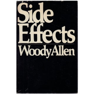 "1980 ""First Edition, Side Effects"" Collectible Book For Sale"