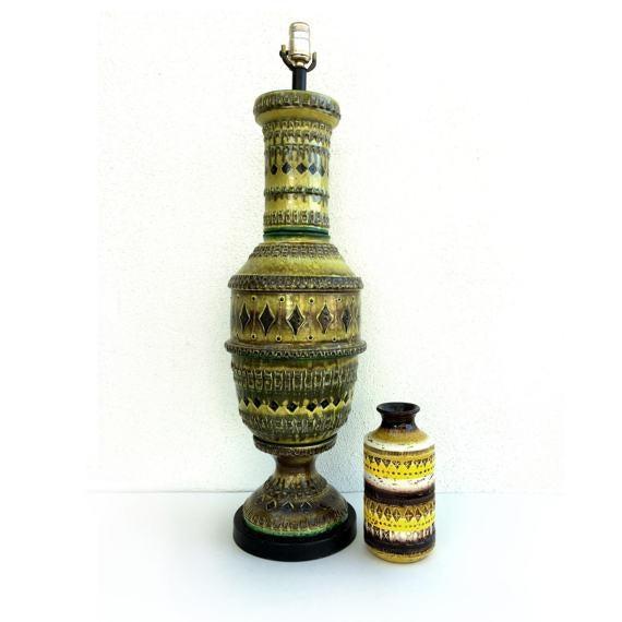 Bitossi Italian Pottery Table Lamp - Image 2 of 5