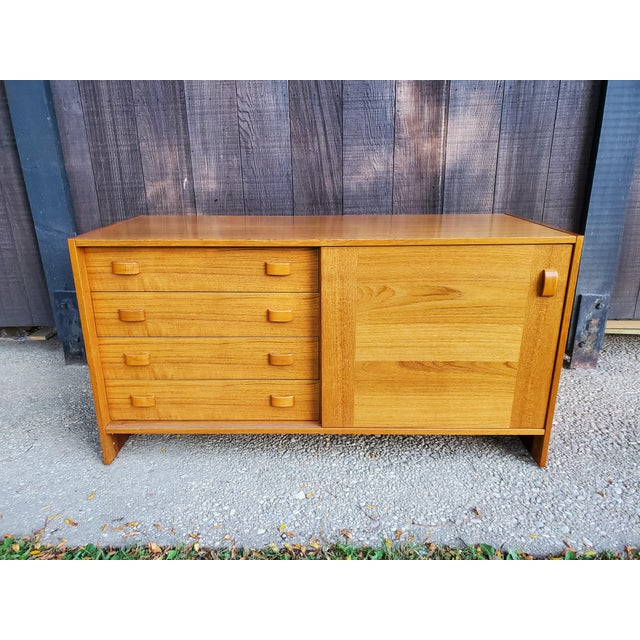 Mid-Century Modern Domino Mobler Danish Mid-Century Modern Sideboard For Sale - Image 3 of 12