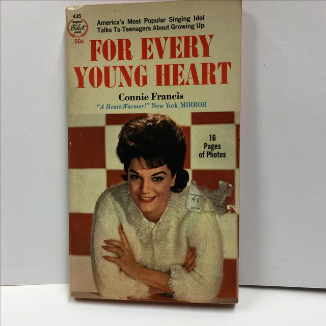 New York: Monarch Publishing, 1964. # 435 Connie Francis photo cover. Sixteen pages of photos. Paperback. 156 pages....