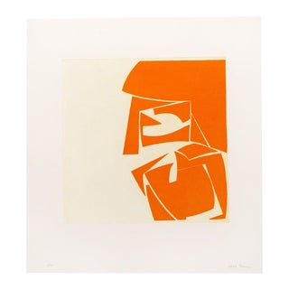 "Joanne Freeman ""Covers 3 Orange"", Print For Sale"