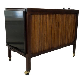 Mount Airy for John Stuart Mid-Century Modern Bar Cart For Sale