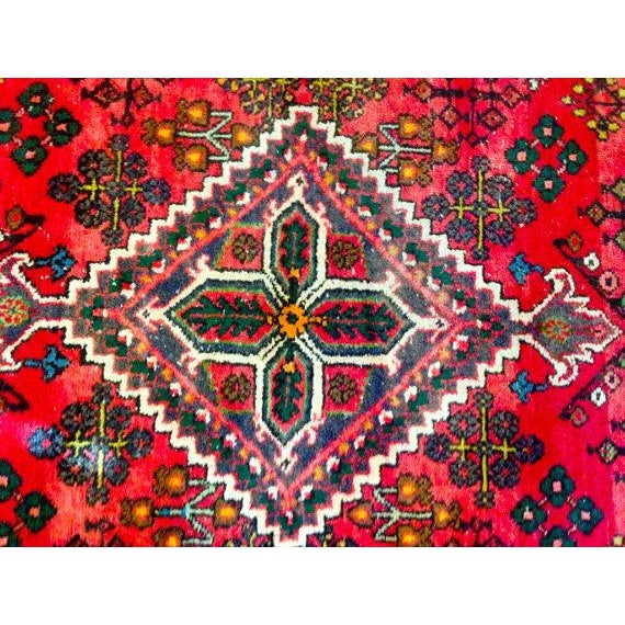 """Persian Bohemian Hand Knotted Rug - 4'3"""" x 6'9"""" - Image 4 of 6"""