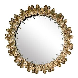 Currery & Company Icon Figuier Patina Round Mirror