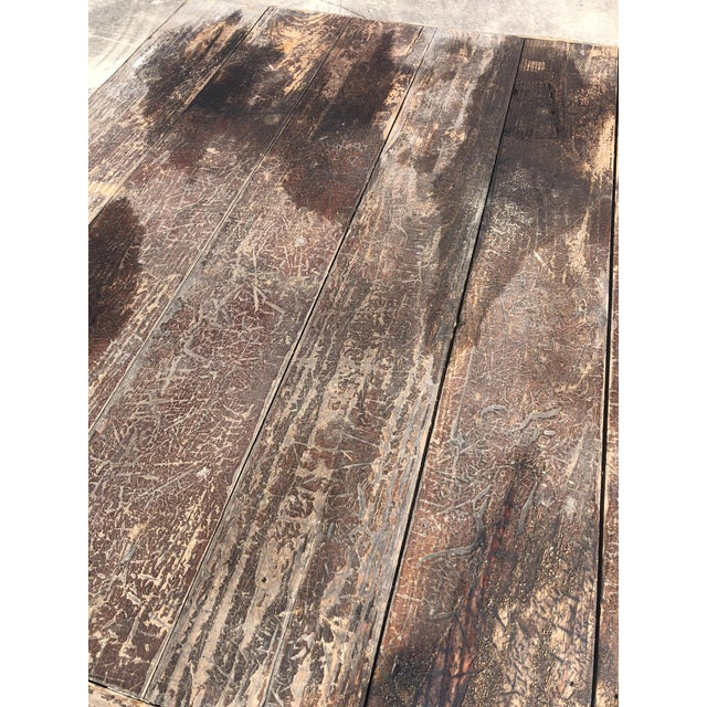 1940s Rustic Adirondack Work or Side Table For Sale - Image 5 of 13