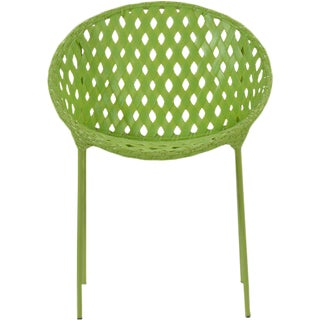 David Francis Green Tic-Tac Outdoor Chair