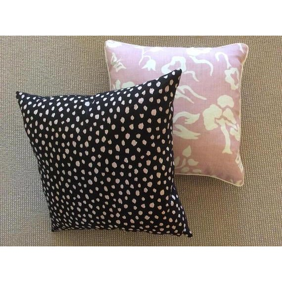 "Victoria Hagan Victoria Hagan ""Early Spring"" Lilac Pillows - a Pair For Sale - Image 4 of 5"