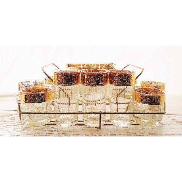 Culver Mid-Century 1950s Tyrol Barware Set For Sale - Image 10 of 11