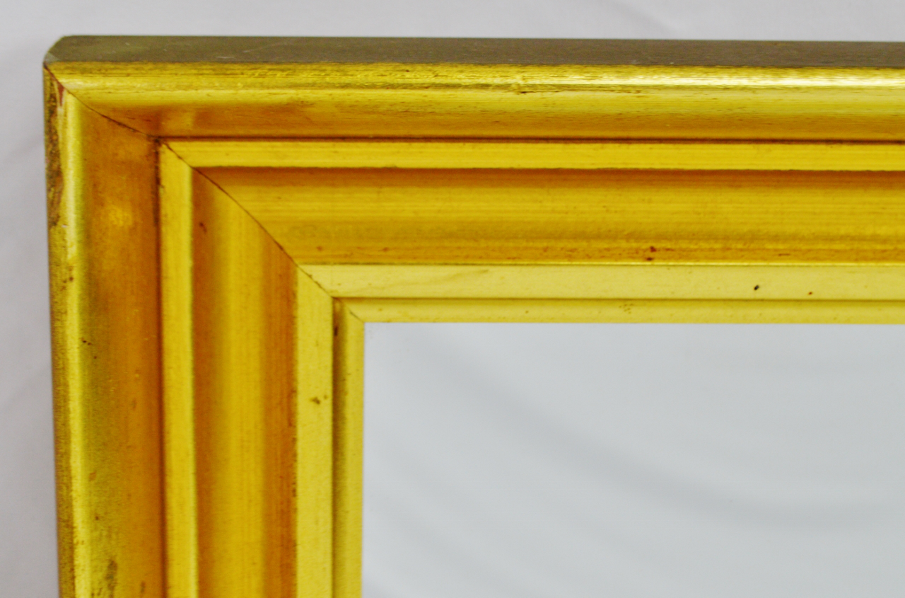 Vintage Bassett Furniture Gilt Framed Wall Mirror   Image 3 Of 6